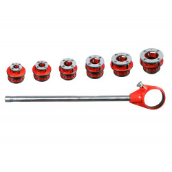 MexX Power 12-R 1/2 inch - 2 inch. Manual Ratchet Threader Set Compatible with RIDGID 700 41935 12R 36475