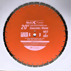 20 Inch Laser Welded Drop Segment Diamond Blade