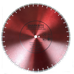 24 Inch Laser Welded Turbo Segment Diamond Blade
