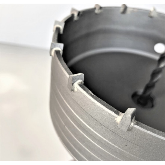 40mm 55mm 65mm 85mm 110mm 130mm 160mm Concrete Hole Saw Set for blocks bricks and concrete