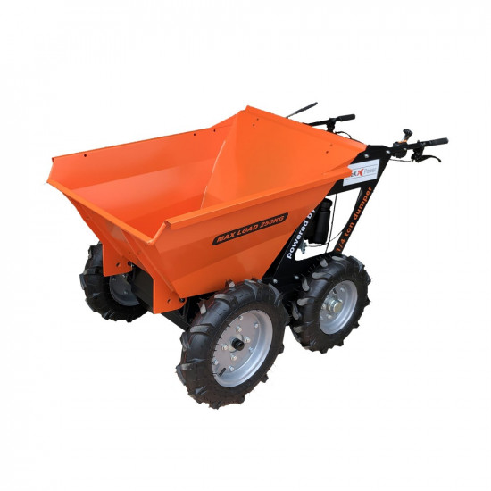 Honda GXV160 Power WheelBarrow 4X4 Chain Drive Mini Dumper