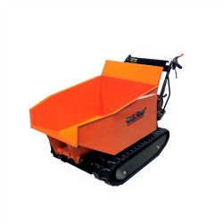 Honda GX200 Hydraulic Tip Track Dumper 1/2 Ton Load Capacity Gas power Wheelbarrow