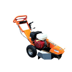 Honda GX390 Stump Grinder 13HP  Gas Powered Certified Commercial  Adjustable Bow Handle Walk Behind