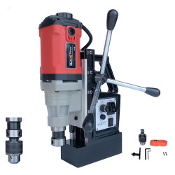 "1-1/2"" Magnetic Drill machine 1500W Variable speed Magnetic Bass Drilling"