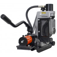 """MexX Power 918 Pipe Roll Groover 2"""" to 12"""". 48297  Grooving Machine. Compatible  with Ridgid 300 Threader."""